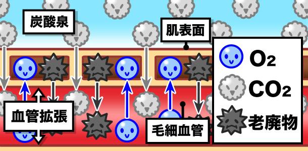 炭酸泉の効能