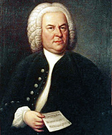 ヨハン・ゼバスティアン・バッハの肖像画