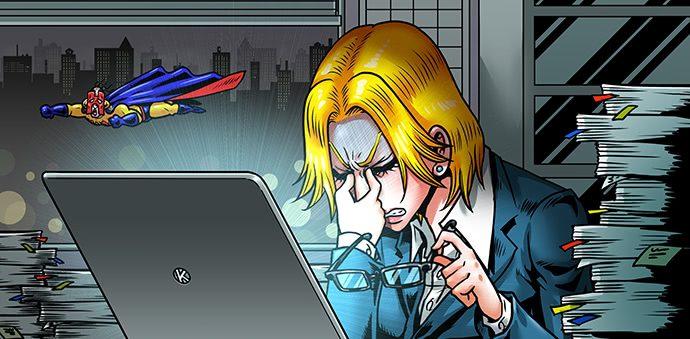 女性の側頭部が薄毛になる原因はパソコンやスマホ!?
